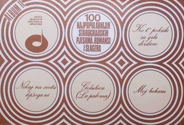 100 najpopularnijih starogradskih pjesama romansi i šlagera