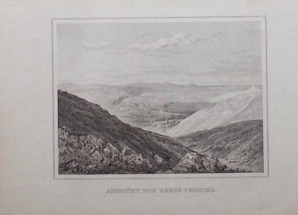 Aussicht vom Berg Promina