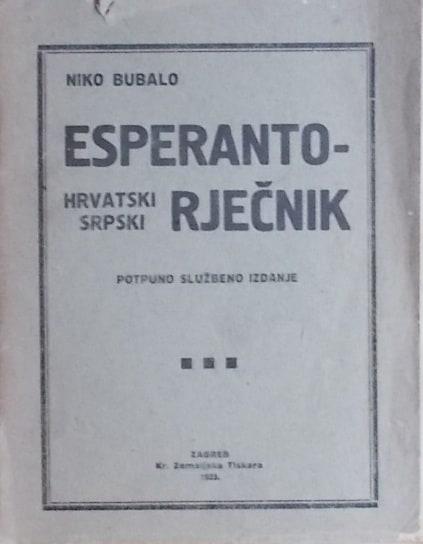 Esperanto rječnik