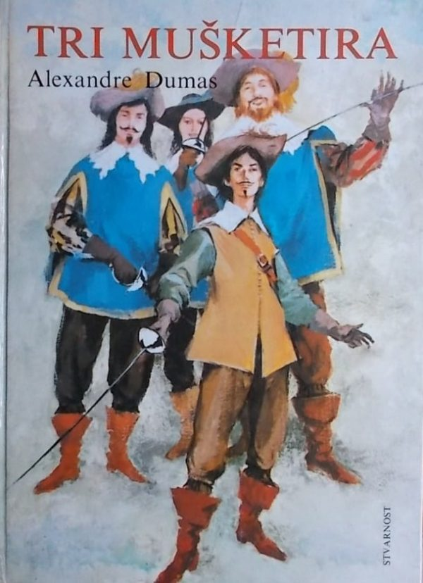 Dumas-Tri mušketira