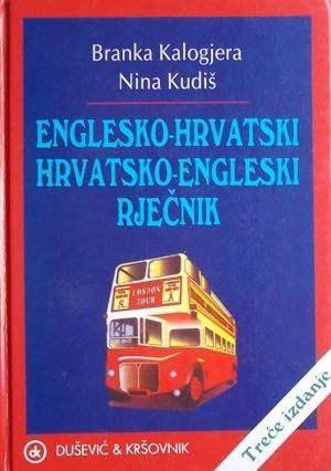 Kalogjera Englesko-hrvatski hrvatsko-engleski rječnik