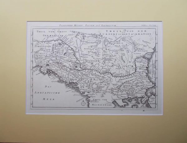 Pannonien Mösien, Dacien und Illyricum