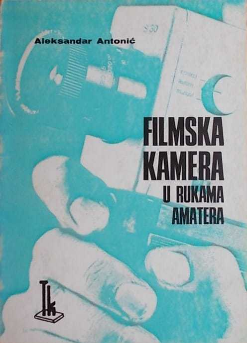 filmska kamera u rukama amatera
