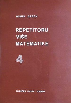 Apsen: Repetitorij više matematike 4