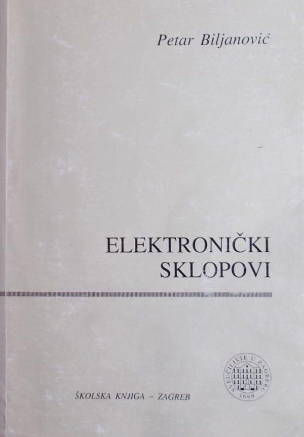 Biljanović: Elektronički sklopovi