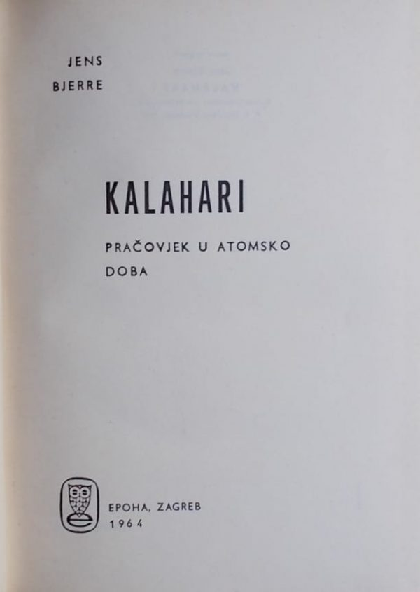 Bjerre: Kalahari