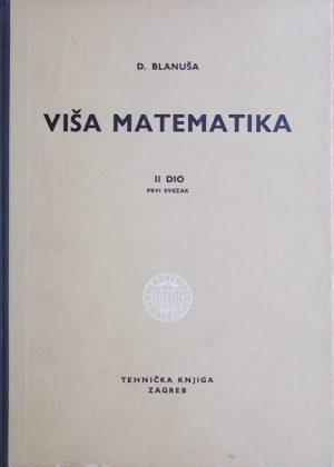 Blanuša Viša matematika 2-1