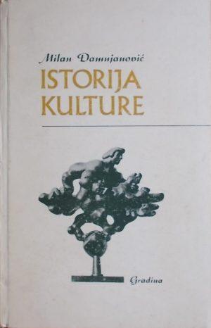 Damjanović: Istorija kulture