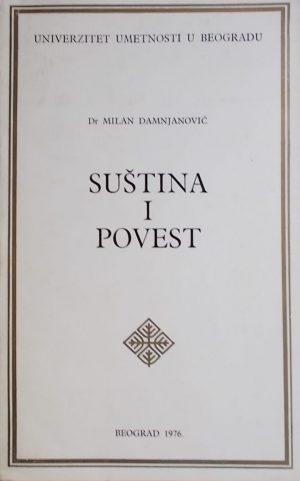 Damjanović: Suština i povest