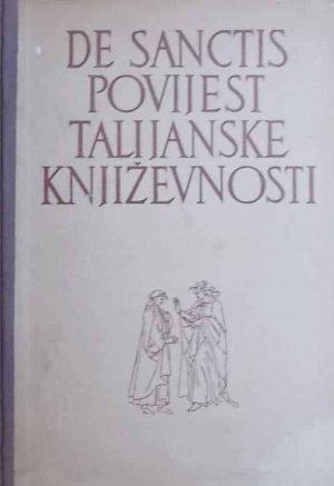 De Sanctis-Povijest talijanske književnosti