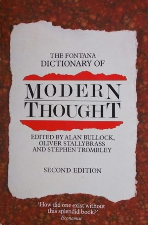 dictionary of modern thought