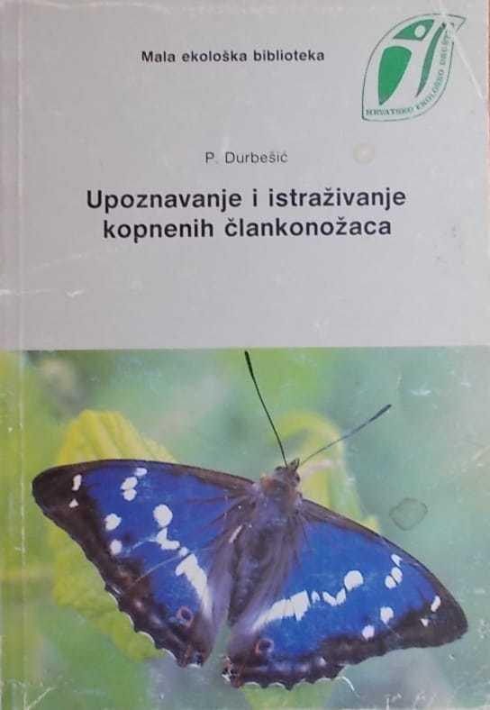 Durbešić: Upoznavanje i istraživanje kopnenih člankonožaca
