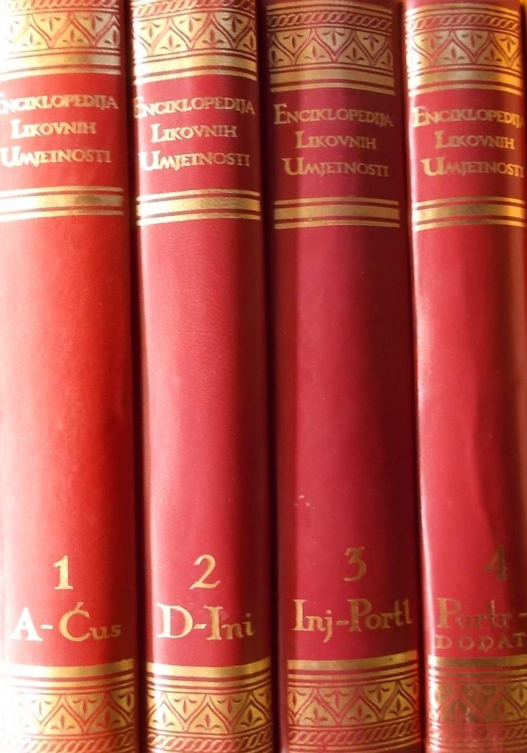 Enciklopedija likovnih umjetnosti 1-4