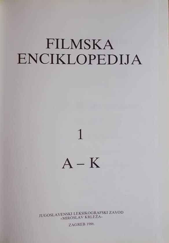 Filmska enciklopedija