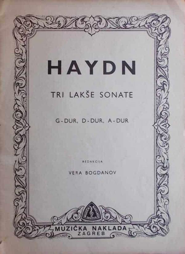 Haydn-Tri laksše sonate