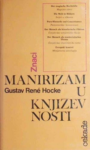 Hocke-Manirizam u književnosti