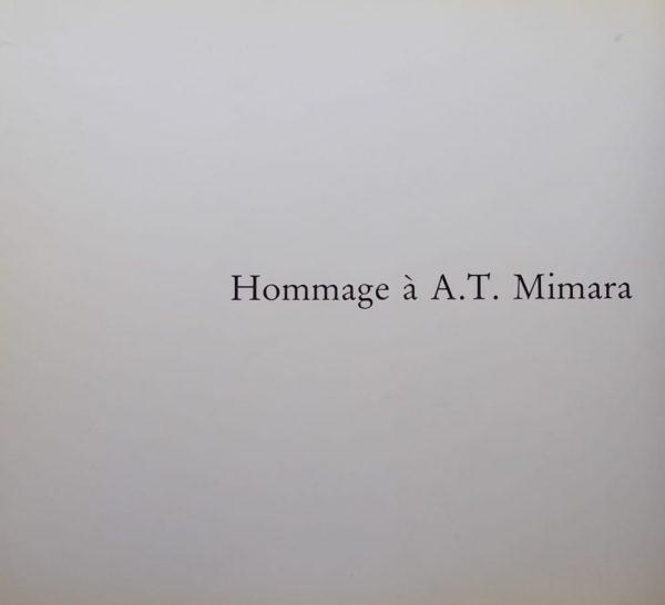 Hommage a A. T. Mimara