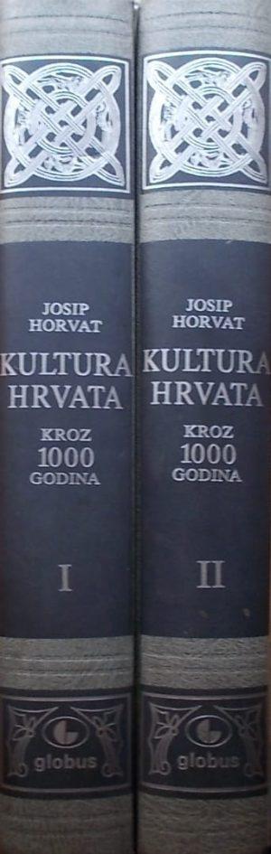 Horvat: Kultura Hrvata kroz 1000 godina 1-2