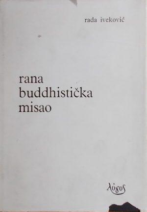 Iveković: Rana buddhistička misao