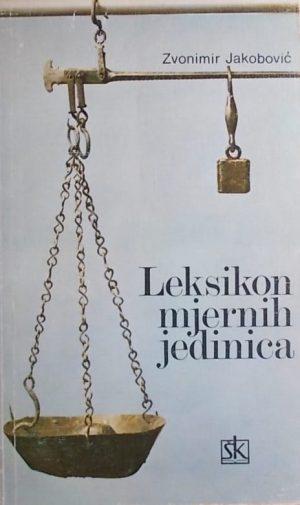 Jakobović: Leksikon mjernih jedinica