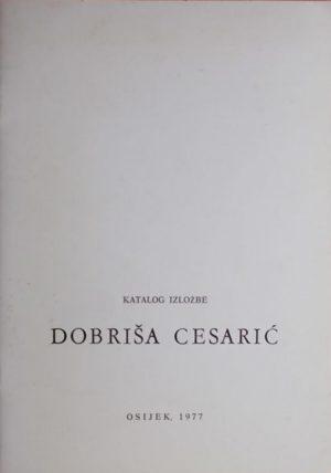 Katalog izložbe Dobriša Cesarić