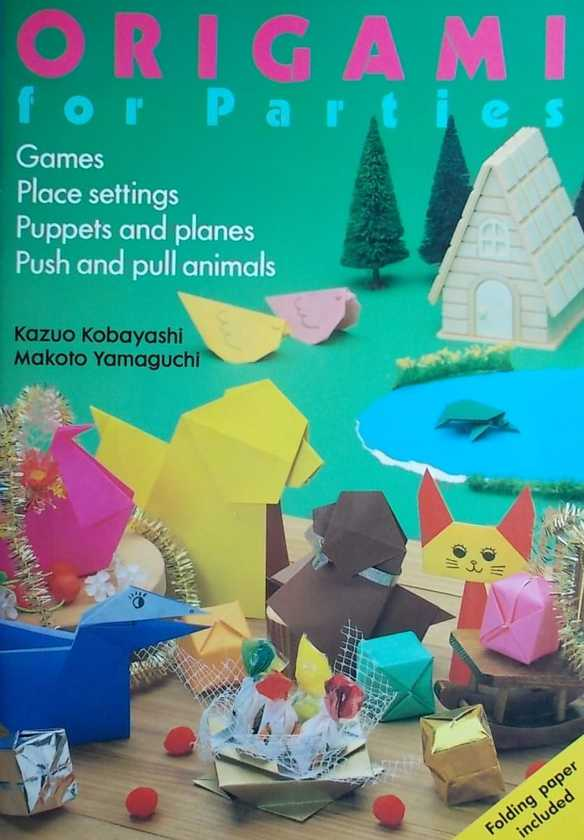 Kobayashi-Origami for parties