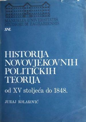 Kolaković: Historija novovjekovnih političkih teorija