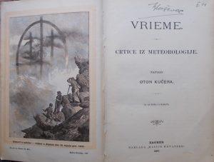 Vrieme: crtice iz meteorologije (1)