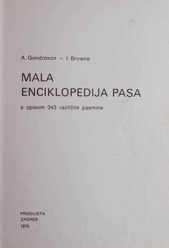 Mala enciklopedija pasa
