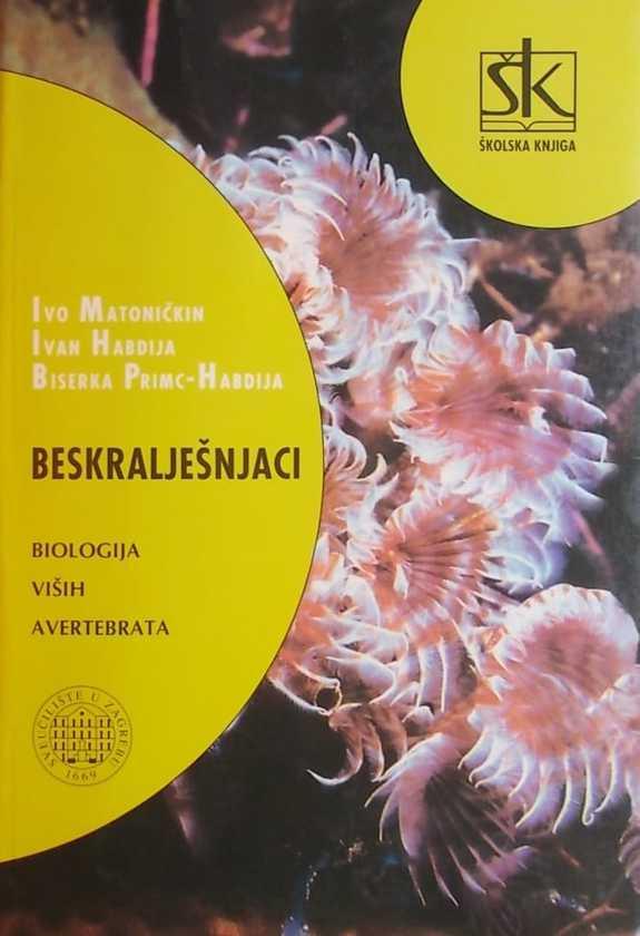 Beskralješnjaci: biologija viših avertebrata