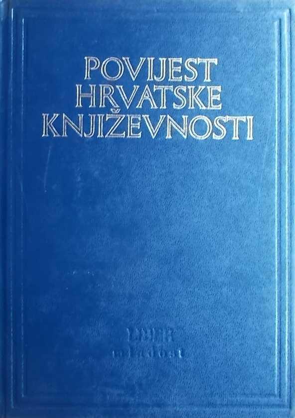 Povijest hrvatske književnosti