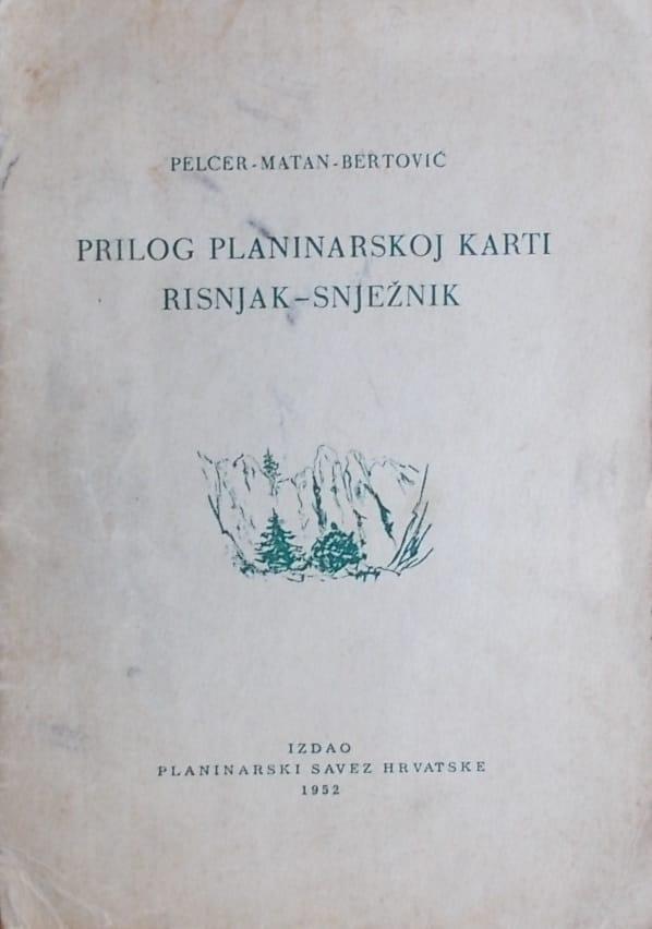 Prilog planinarskoj karti Risnjak-Snježnik