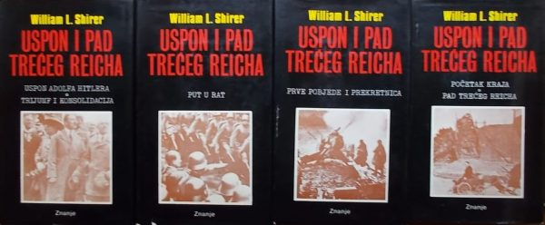 Shirer: Uspon i pad Trećeg Reicha 1-4
