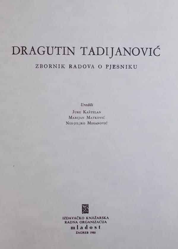 Tadijanovćev zbornik