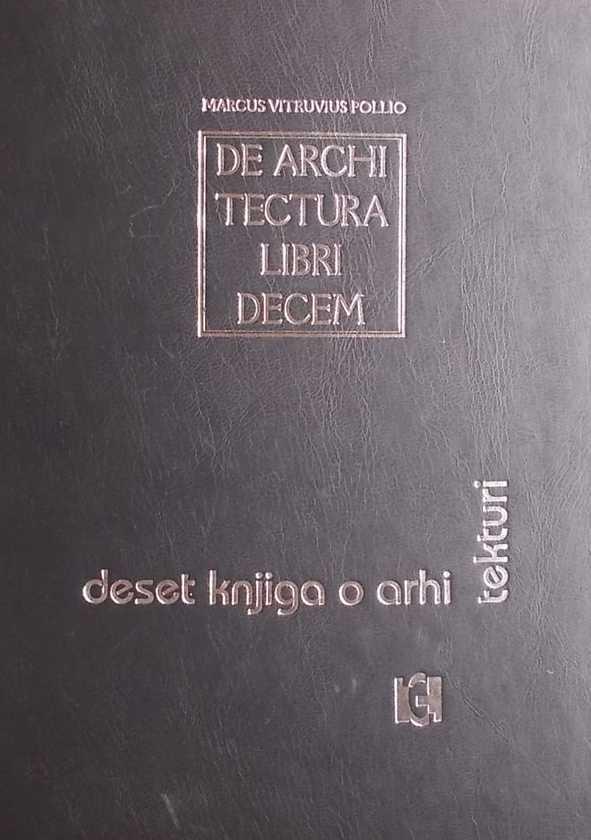 Vitruvije-Deset knjiga o arhitekturi