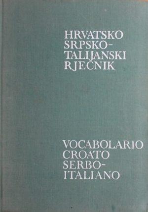 Hrvatskosrpsko-talijanski rječnik