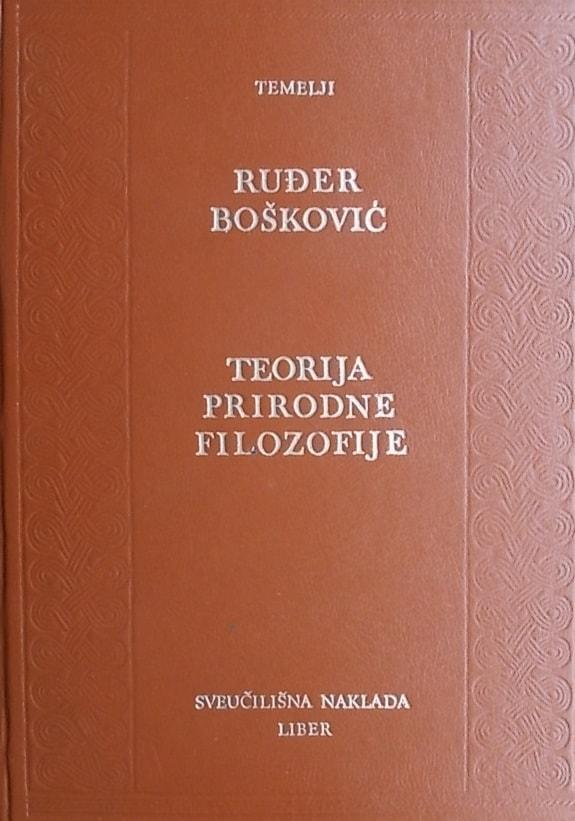 Bošković-Teorija prirodne filozofije