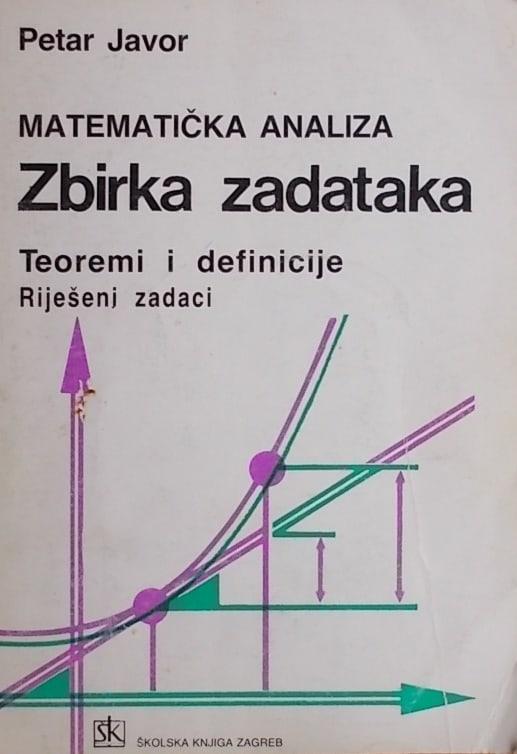 Javor: Matematička analiza