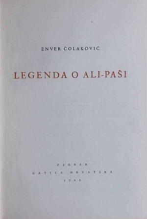 Čolaković: Legenda o Ali-paši