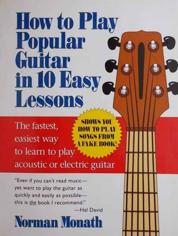 monath-how to play popular guitar 1n 10 easy lessons