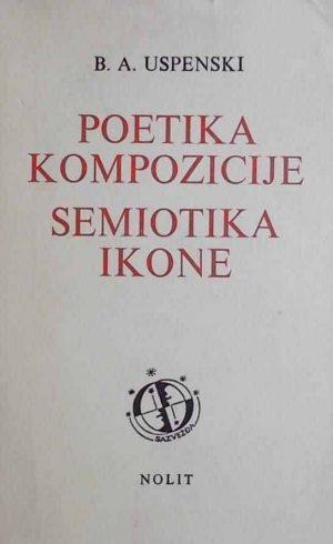 Uspenski-Poetika kompozicije, Semiotika ikone
