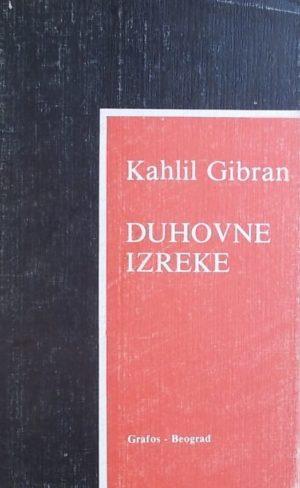 Gibran-Duhovne izreke