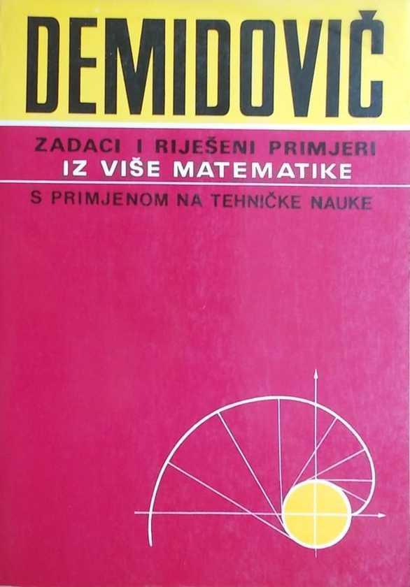 demidovič-zadaci i rijeseni primjeri iz vise matematike
