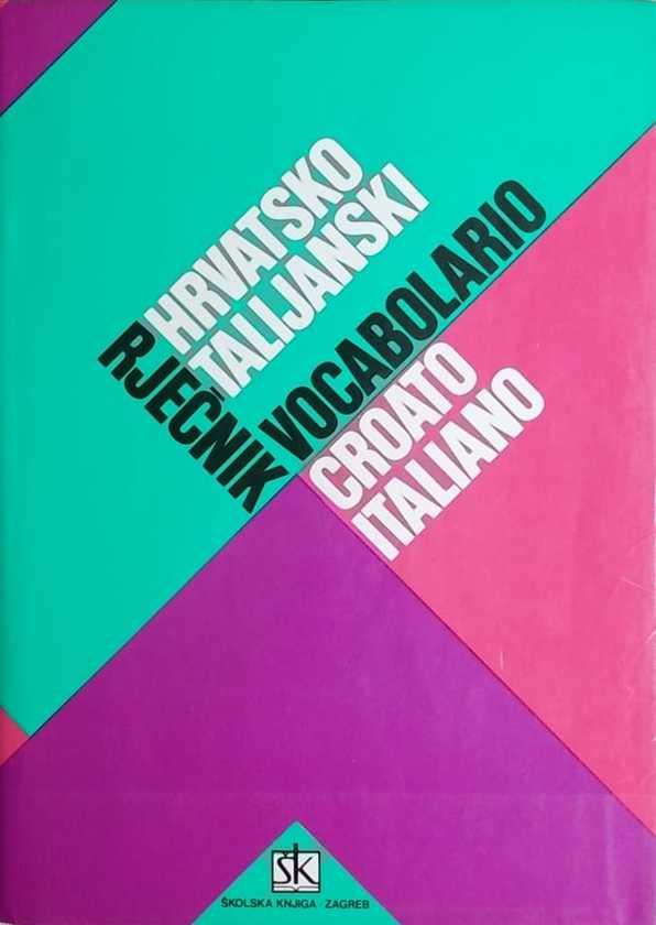 Hrvatsko-talijanski rječnik