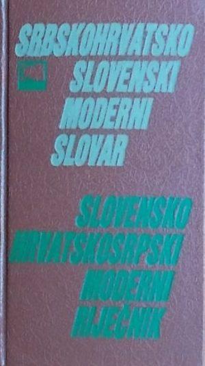 Srpskohrvatsko-slovenski i slovensko-hrvatskosrpski rječnik