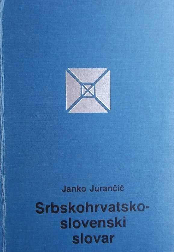 Jurančič-Srbskohrvatsko slovenski slovar