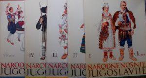 Kirin-Narodne nošnje Jugoslavije 1-5