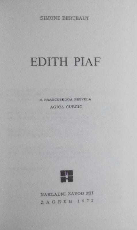 Berteaut-Edith Piaf
