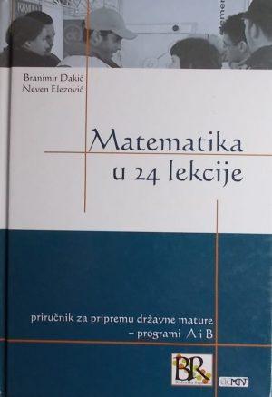 Dakić, Elezović-Matematika u 24 lekcije