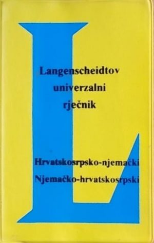 Hrvatskosrpsko-njemački Njemačko-hrvatskosrpski rječnik